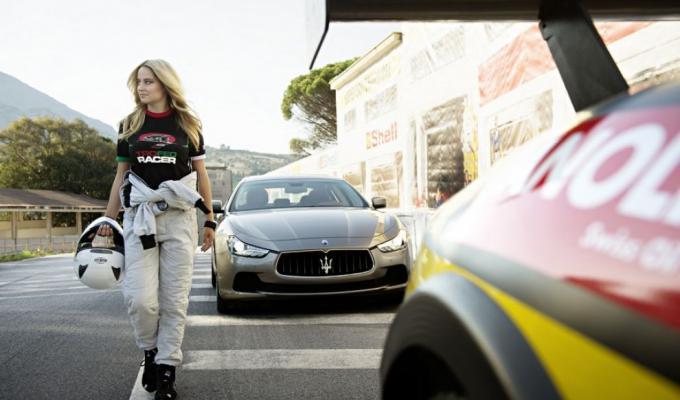 Maserati 100years Collection Photographer: René Staud / Styling: Monika Kropfitsch / Model: Genevieve Morton